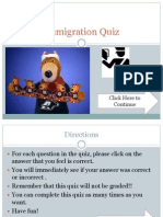 immigration quiz r