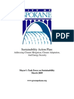 City of Spokane Sustainability Action Plan