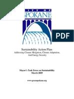 City of Spokane Sustainability Action Plan