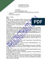 Bài tập môn KTTC