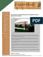 NUEVA BASE DE OPERACIÓNES MIXTAS (BOM) EN ZONA DE XALOSTOC E