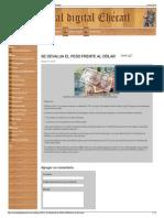 SE DEVALUA EL PESO FRENTE AL DÓLAR - Portal digital Ehécatl