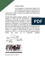 Communicacion   Análoga y Digital