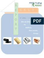 Commodity Weekly Market News 07 April to 11 April