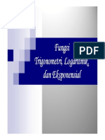 Materi 7 Derivatif Fungsi Trigonometri