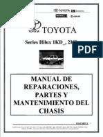 Vol. 2 Manual TOYOTA Hilux