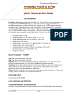 Pyrophoric Chemicals Fact Sheet