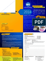 Brosur ISPE Conference 2014