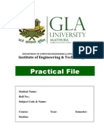Format for Lab File