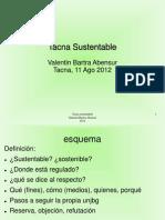 Tacna Sustentable