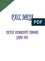 151020649 Fail Meja Ketua Pembantu Tadbir