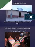 PRESENTACIÓN FOTOS DEL TALLER