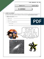 I BIM - 4to. Año - GEOG- Guía 2 - El Universo