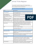 EU Clinical Trials Register Glossary
