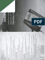 KX-T3000CID - Manual / Operating Instructions