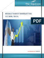 Weekly Equity News Letter 07 Apr 2014