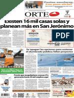 Periódico Norte de Ciudad Juárez edición impresa del 7 abril del 2014