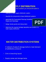 Water Distribution,WEB