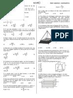 Lista Geometria Espacial.doc