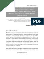 Procesos Constitucionales Contra Resoluciones Judiciales