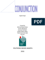 English Paper Conjunction