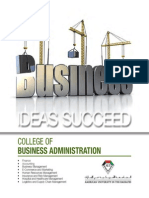 College of Business Administration, AUE