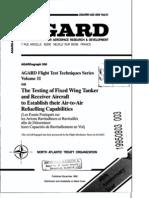 Agard Flight Test Technique Series Volume 11 Air to Air Refueling