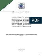 ATPS Proc Adm Pronto Etapa 4