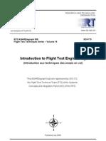 Agard Flight Test Technique Series Volume 14 Introduction to Flight Test Engineering