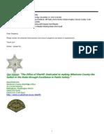 Exhibit 45 - Dec 15, 2011 Meeting With Deputy Paul Murphy