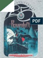 Ad&d 2nd Edition - Ravenloft Ravenloft 25th Anniversary