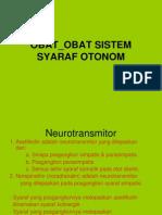 Farmakologi I (OBAT-OBAT SISTEM SYARAF OTONOM).ppt
