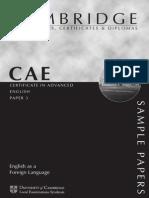 CAE - English in Use