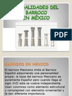 Modalidades Del Barroco