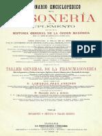 DICCIONARIO ENCICLOPÉDICO DE LA MASONERÍA - VOLUMEN III