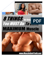 8 ways on How to gain muscle mass