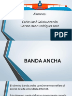 Presentacion BANDA ANCHA