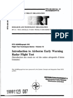 Agard Flight Test Technique Series Volume 16 Airborne Early Warning Radar Flight Test