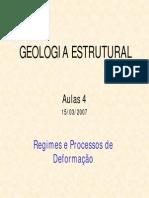 aula IV_Regimes e processos de deformação
