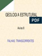 Aula VIII _ Falhas Transcorrentes