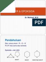 Eter & Epoksida