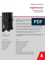 TagDetector - Monitored Wireless Outdoor Detector from Tag Systems
