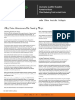 Die Casting Aluminum Selection Guide