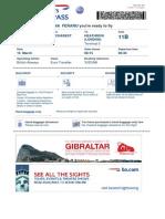 Boarding Pass BA0885 OTP LHR 021