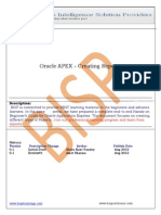 Oracle APEX Lab 4 Creating Reports
