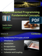 Object Oriented Programming Principles