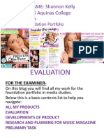 media final of evaluation