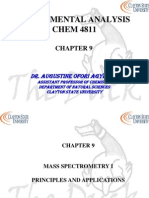 Chapter 9 Mass Spec 1