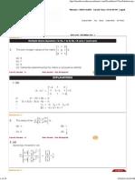 Basic Level - Full Syllabus Test - 1