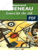Exercitii De Stil, Queneau